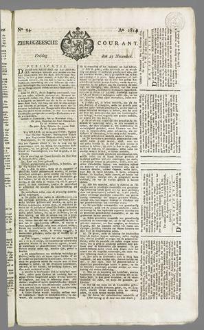 Zierikzeesche Courant 1814-11-25