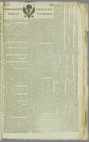 Middelburgsche Courant 1809-06-06