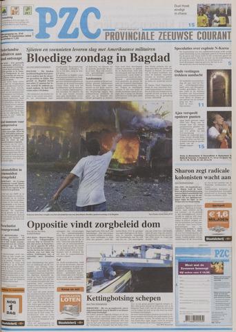 Provinciale Zeeuwse Courant 2004-09-13