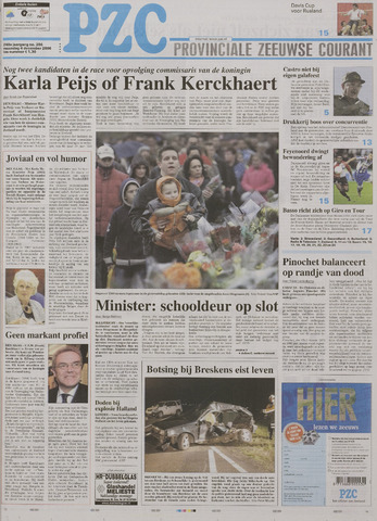 Provinciale Zeeuwse Courant 2006-12-04