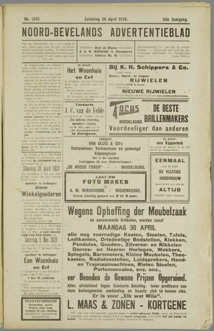 Noord-Bevelands Nieuws- en advertentieblad 1928-04-28