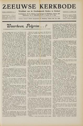 Zeeuwsche kerkbode, weekblad gewijd aan de belangen der gereformeerde kerken/ Zeeuwsch kerkblad 1951-04-13