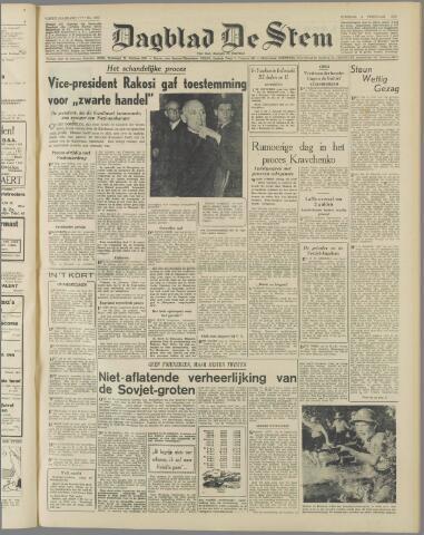 de Stem 1949-02-08
