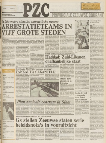 Provinciale Zeeuwse Courant 1979-04-19