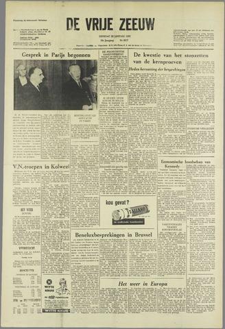 de Vrije Zeeuw 1963-01-22