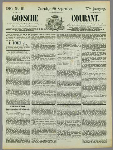 Goessche Courant 1890-09-20