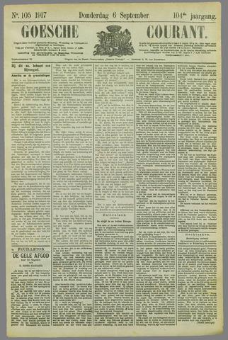 Goessche Courant 1917-09-06