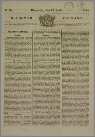 Goessche Courant 1844-04-25