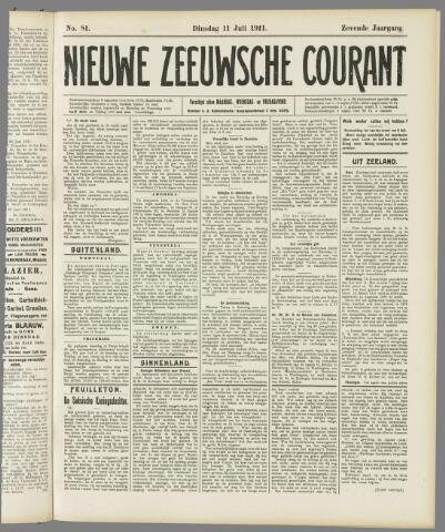 Nieuwe Zeeuwsche Courant 1911-07-11