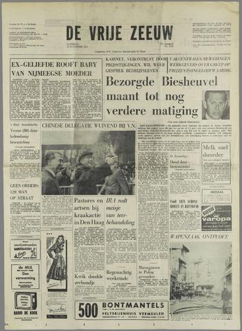 de Vrije Zeeuw 1971-11-13