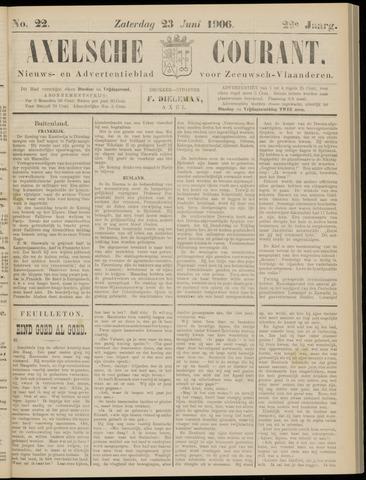 Axelsche Courant 1906-06-23