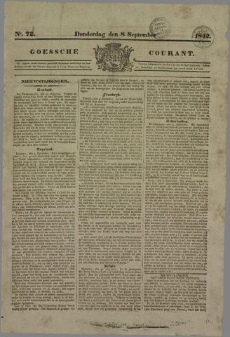 Goessche Courant 1842-09-08