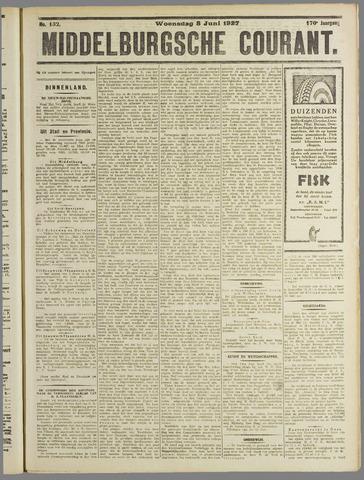 Middelburgsche Courant 1927-06-08