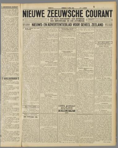 Nieuwe Zeeuwsche Courant 1934-04-17