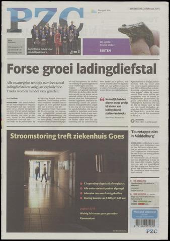 Provinciale Zeeuwse Courant 2014-02-26