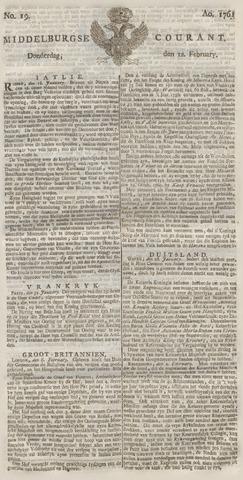 Middelburgsche Courant 1761-02-12