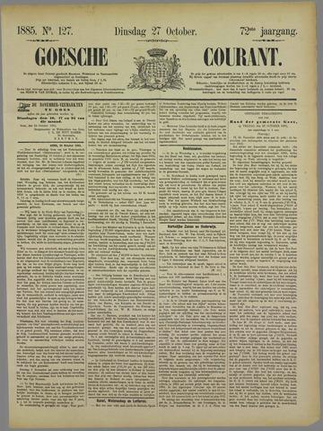 Goessche Courant 1885-10-27