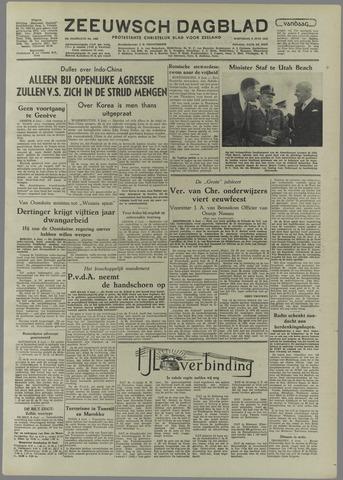 Zeeuwsch Dagblad 1954-06-09