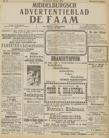 de Faam en de Faam/de Vlissinger 1915-02-17