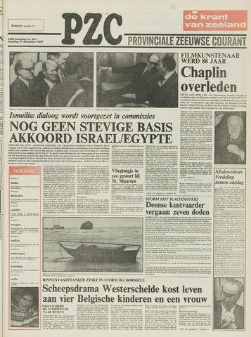 Provinciale Zeeuwse Courant 1977-12-27