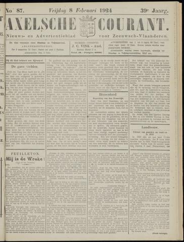 Axelsche Courant 1924-02-08