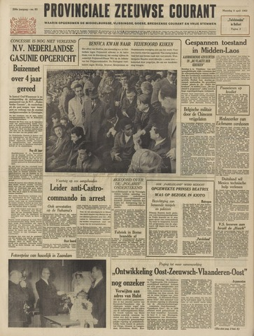 Provinciale Zeeuwse Courant 1963-04-08