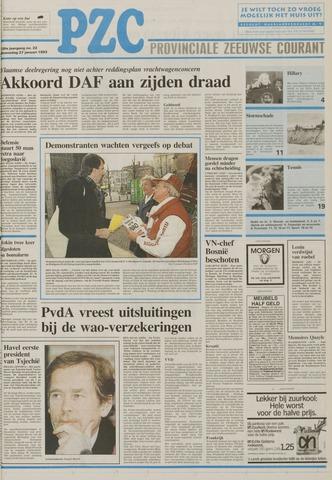 Provinciale Zeeuwse Courant 1993-01-27