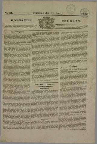Goessche Courant 1842-06-27