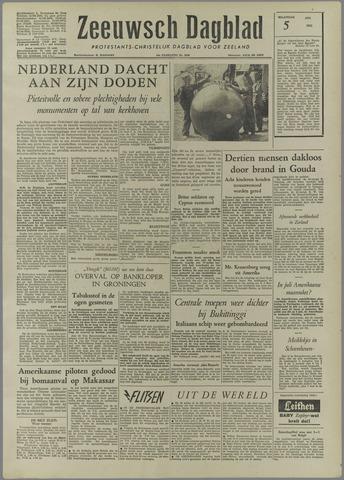 Zeeuwsch Dagblad 1958-05-05