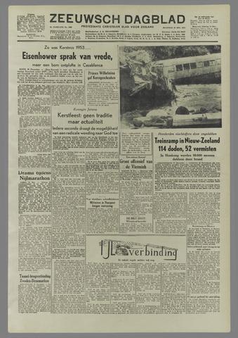 Zeeuwsch Dagblad 1953-12-28