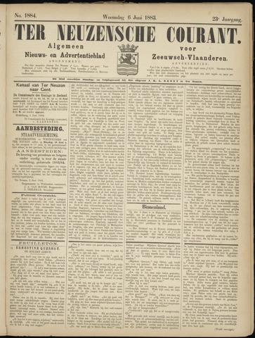 Ter Neuzensche Courant. Algemeen Nieuws- en Advertentieblad voor Zeeuwsch-Vlaanderen / Neuzensche Courant ... (idem) / (Algemeen) nieuws en advertentieblad voor Zeeuwsch-Vlaanderen 1883-06-06