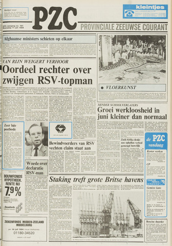 Provinciale Zeeuwse Courant 1984-07-11