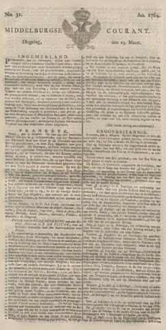 Middelburgsche Courant 1764-03-13