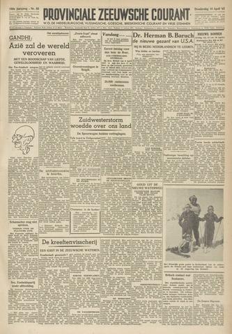 Provinciale Zeeuwse Courant 1947-04-10
