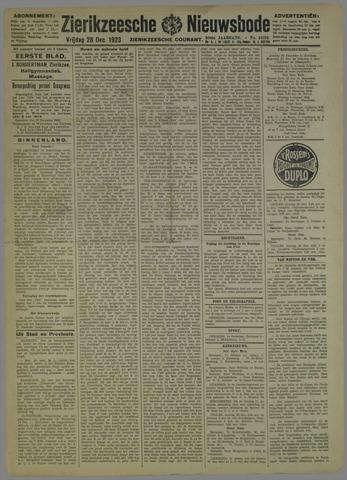 Zierikzeesche Nieuwsbode 1923-12-28