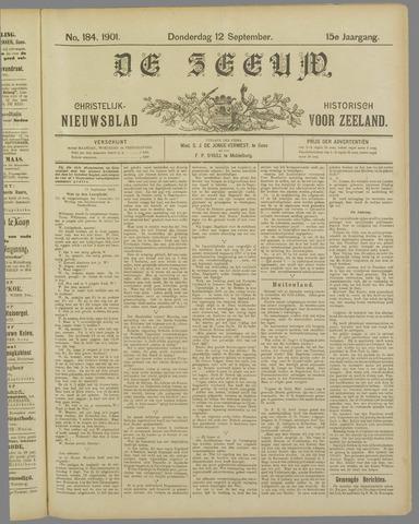 De Zeeuw. Christelijk-historisch nieuwsblad voor Zeeland 1901-09-12