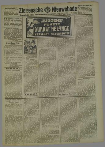 Zierikzeesche Nieuwsbode 1923-11-21