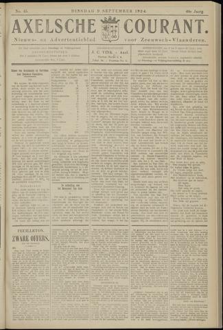 Axelsche Courant 1924-09-09