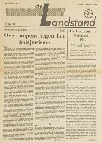 De landstand in Zeeland, geïllustreerd weekblad. 1943-02-19