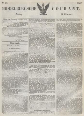 Middelburgsche Courant 1867-02-24