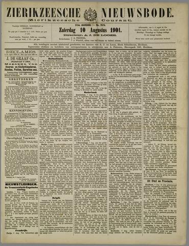 Zierikzeesche Nieuwsbode 1901-08-10