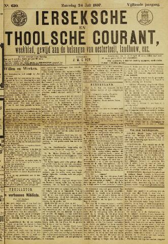 Ierseksche en Thoolsche Courant 1897-07-24