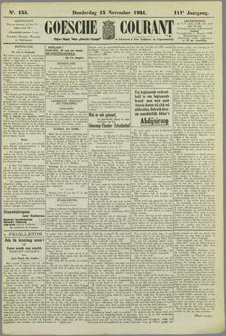 Goessche Courant 1924-11-13