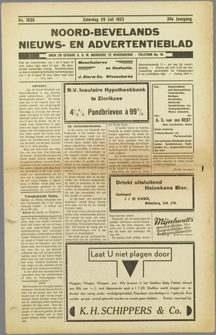 Noord-Bevelands Nieuws- en advertentieblad 1933-07-29