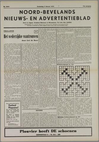 Noord-Bevelands Nieuws- en advertentieblad 1975-02-06