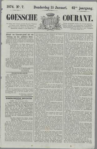 Goessche Courant 1874-01-15
