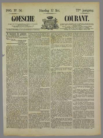 Goessche Courant 1885-05-12