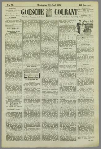 Goessche Courant 1924-06-26