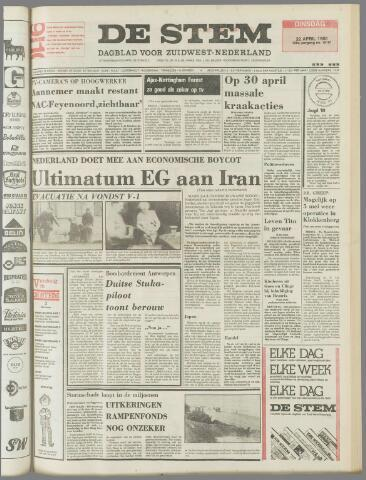 de Stem 1980-04-22