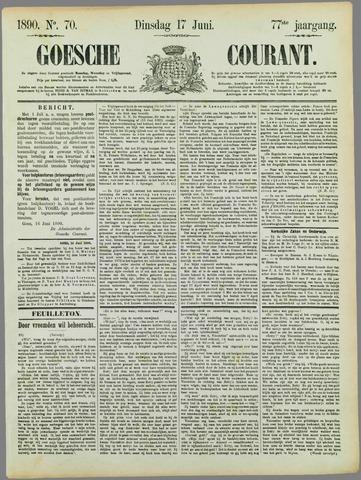 Goessche Courant 1890-06-17